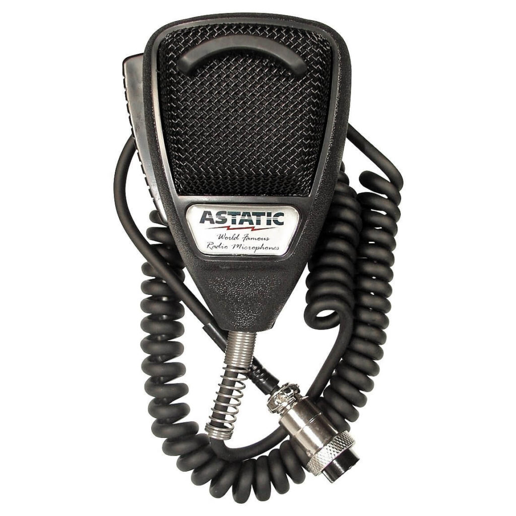 Astatic 302-636LB1 4 Pin CB Microphone
